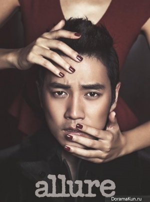 Joo Sang Wook для Allure Korea November 2013
