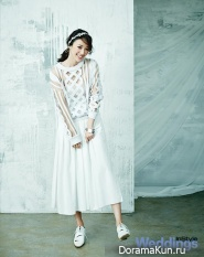 Jun Hye Jin для InStyle Weddings June 2014