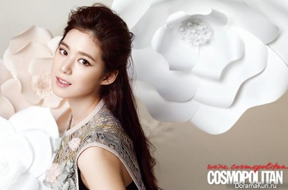 Jung Eun Chae для Cosmopolitan Korea April 2013
