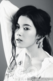 Jung Eun Chae для GQ Korea April 2013