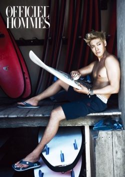 Jung Gyu Woon для L'Officiel Hommes Korea May 2012