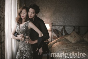 Jung Gyu Woon, Yeom Jung Ah для Marie Claire October 2012
