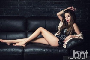 Jung Ha Eun для BNT International June 2014