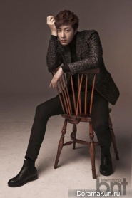 Jung Il Woo для BNT International December 2013