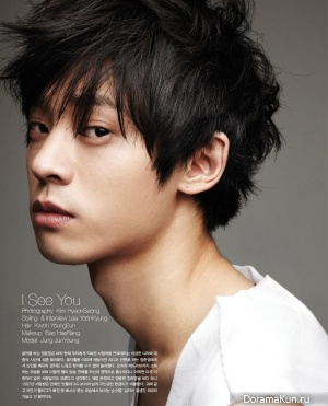 Jung Joon Young для OhBoy! No. 39 August 2013