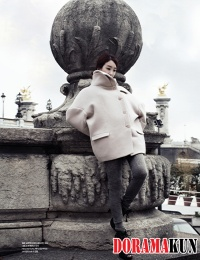 Jung Ryu Won для Harper's Bazaar Korea May 2012 Extra