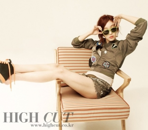 Jung Ryeo Won для High Cut, Vol. 69