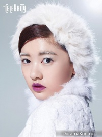 Jung So Min для The Celebrity January 2014