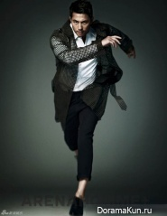 Jung Woo Sung для Arena Homme Plus 2012