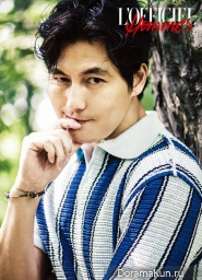 Jung Woo Sung для L'Officiel Hommes Korea July 2013