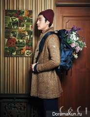 Jung Woo для CeCi Korea December 2013