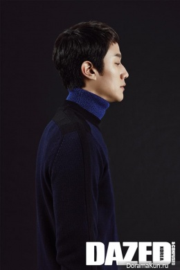 Jung Woo для Dazed & Confused Korea December 2013