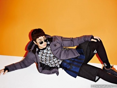 Jung Woo для High Cut Vol. 115