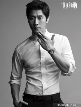 Jung Woo для The Celebrity February 2014