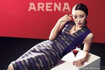 Jung Yoo Mi для Arena Homme Plus February 2013