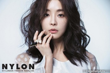 Jung Yoo Mi для Nylon Magazine March 2014