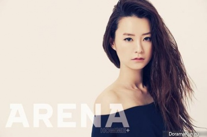 Jung Yumi для Arena Homme Plus May 2013