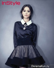 Jung Yumi для InStyle October 2012