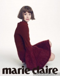 Jung Yumi для Marie Claire Korea September 2013