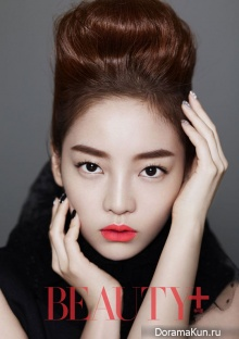 KARA's Goo Hara для Beauty Plus September 2012