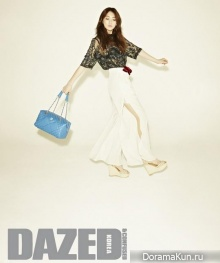 Kang Jiyoung для Dazed & Confused Korea March 2013