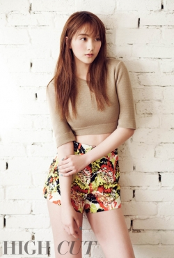 KARA's Jiyoung для High Cut Vol. 78