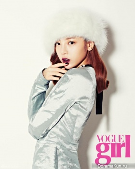 KARA (Goo Hara) для Vogue Girl Korea November 2013