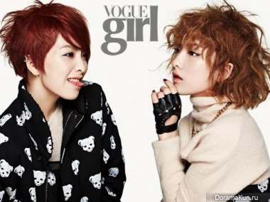 KARA (Jiyoung) для Vogue Girl Korea October 2013