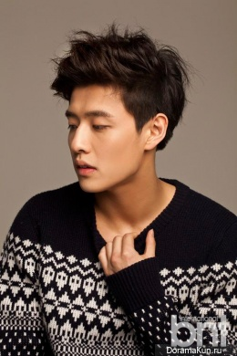 Kang Ha Neul для BNT International February 2014