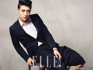Kang Ha Neul для Elle Korea February 2014