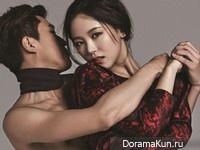 Kang Han Na для Arena Homme Plus January 2014