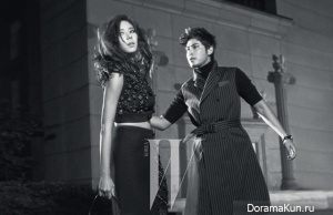 Kang Ji Hwan, Son Dam Bi для W Korea September 2012