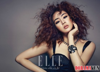 Kang So Ra для Elle Korea August 2012