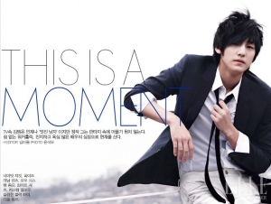 Kim Bum для Elle Korea April 2010