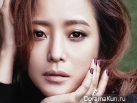 Kim Hee Sun для Cosmopolitan Korea September 2013