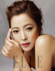 Kim Hee Sun для Elle Korea February 2012