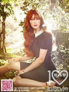 Kim Hee Sun для InStyle March 2013