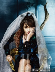 Kim Hye Soo для W Korea October 2012