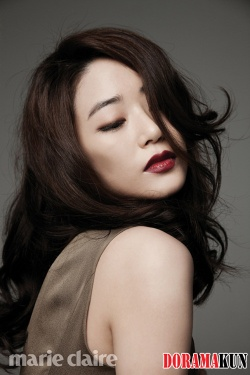 Kim Hyo Jin, Im Sang Soo для Marie Claire Korea June 2012