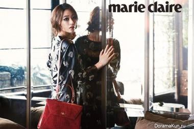 Kim Hyo Jin для Marie Claire Korea September 2013