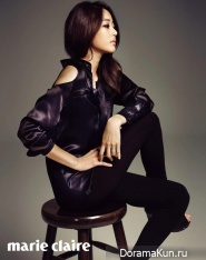 Kim Hyo Jin для Marie Claire October 2012