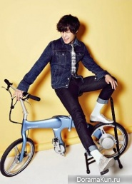 Kim Hyun Joong для High Cut Vol. 96 Extra