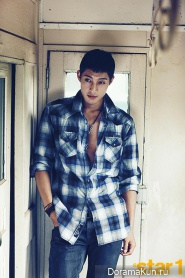 Kim Hyun Joong для @Star1 Korea August 2013