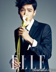 Kim Ji Hoon для Elle Korea December 2013
