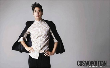Kim Ji Suk и др. для Cosmopolitan Korea September 2013