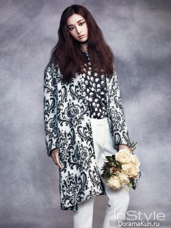 Kim Ji Won для InStyle Korea December 2013 Extra