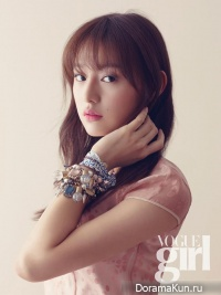Kim Ji Won для Vogue Girl Korea March 2014