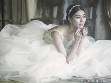 Jung Hwa's Wedding Pictorial
