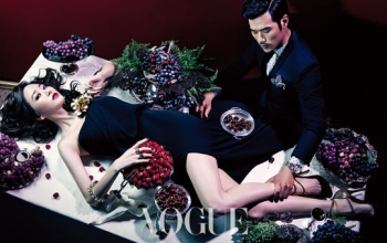 Kim Kang Woo, Kim Hyo Jin для Vogue Korea June 2012