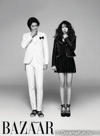 Lee Min Ki, Kim Min Hee для Harper's Bazaar March 2013